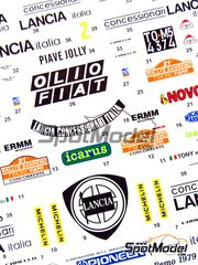 Studio27: Decals 1/24 scale - Lancia Stratos Concessionari Lancia