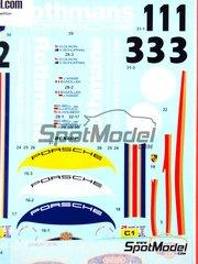 Studio27: Marking / livery 1/24 scale - Porsche 956