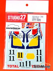 Studio27: Decals 1/12 scale - Honda NS500 - Raymond Roche (FR) - World Championship 1984
