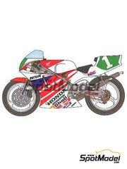 Studio27: Decals 1/12 scale - Honda NSR250 HRC #1 - Tadayuki 'Taddy' Okada (JP) - World Championship 1991 - for Tamiya kit TAM14059