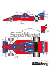 Studio27: Marking / livery 1/20 scale - Brabham BT46