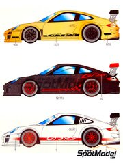 Studio27: Model kit 1/25 scale - Porsche 911 GT3 RS 4.0