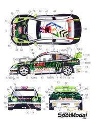 Studio27: Model kit 1/25 scale - Ford Focus WRC