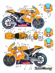 Studio27: Model kit 1/25 scale - Honda RC212V