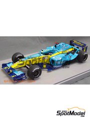 Studio27: Model car kit 1/20 scale - Renault R24 Mild Seven #7, 8 - Fernando Alonso (ES), Jarno Trulli (IT) - World Championship 2004 - resin multimaterial kit