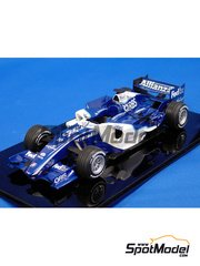 Studio27: Model car kit 1/20 scale - Williams FW28 2006 - resin multimaterial kit