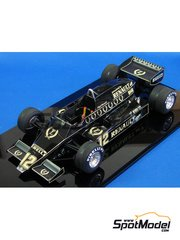 Studio27: Model car kit 1/20 scale - Lotus 93T - French Grand Prix 1983 - resin multimaterial kit