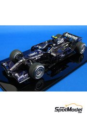 Studio27: Model car kit 1/20 scale - Williams FW30 - Test version 2008 - resin multimaterial kit