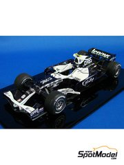 Studio27: Model car kit 1/20 scale - Williams FW30 2008 - resin multimaterial kit