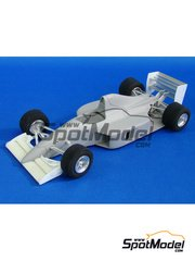 Studio27: Model car kit 1/20 scale - Lola Larrousse Calmels LC90 1990 - resin multimaterial kit