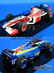 Studio27: Model car kit 1/20 scale - Honda BAR001 - Early season 1999 - resin multimaterial kit