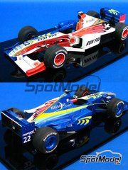 Studio27: Model car kit 1/20 scale - Honda BAR001 - Late season 1999 - resin multimaterial kit