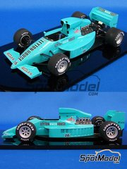 Studio27: Model car kit 1/20 scale - Leyton House March 871 Cobra #16 - Ivan Capelli (IT) - San Marino Grand Prix 1987