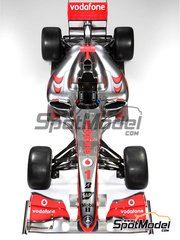 Studio27: Model car kit 1/20 scale - McLaren MP4/24 Vodafone #1, 2 - Lewis Hamilton (GB), Heikki Kovalainen  (FI) - Australian Grand Prix 2009 - resin multimaterial kit