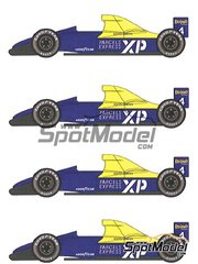 Studio27: Model car kit 1/20 scale - Tyrrell Cosworth 018 #4 - French Grand Prix 1989 - resin multimaterial kit