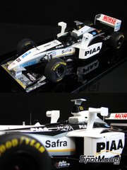 Studio27: Model car kit 1/20 scale - Tyrrell 026 early PIAA #20 - World Championship 1998 - resin multimaterial kit