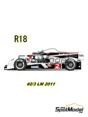 Studio27: Model kit 1/25 scale - Audio R18 RDI