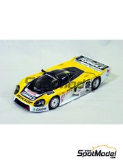 Studio27: Model car kit 1/24 scale - Toyota 86C Dunlop - 24 Hours Le Mans 1986 - resin multimaterial kit