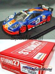 Studio27: Model car kit 1/24 scale - McLaren F1 GTR