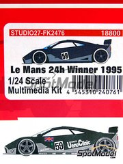 Studio27: Model kit 1/25 scale - McLaren F1 GTR