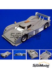 Studio27: Model car kit 1/24 scale - Lola Aston Martin - American Le Mans Series ALMS 2009 - resin multimaterial kit