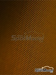 Studio27: Decals - Kevlar fiber dark yellow with small size pattern