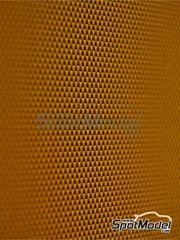 Studio27: Decals - Kevlar fiber dark Yellow with medium size pattern