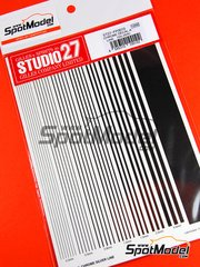 Studio27: Decals - Chrome silver lines