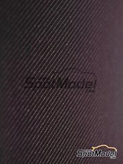 Studio27: Decals - Carbon fiber twill weave metallic gray small size pattern