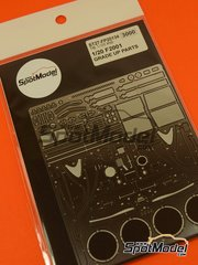 Studio27: Photo-etched parts 1/20 scale - Ferrari F2001 - for Tamiya reference TAM20052