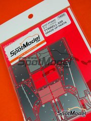 Studio27: Photo-etched parts 1/20 scale - Tyrrell Honda 020 - World Championship 1991