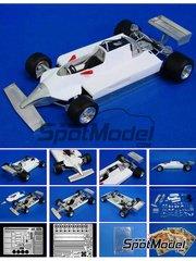 Studio27: Transkit 1/20 scale - Ferrari 126DX 1981