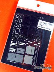Studio27: Photo-etched parts 1/20 scale - Ferrari F1-90 - for Fujimi reference FJ090436