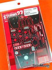 Studio27: Photo-etched parts 1/20 scale - Lotus Ford Type 79 - World Championship 1978 - for Hasegawa kit 23203