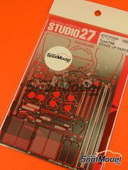 Studio27: Photo-etched parts 1/20 scale - Lotus Ford Type 79B - for Tamiya kits TAM20060, TAM20061
