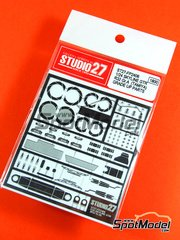 Studio27: Photo-etched parts 1/24 scale - Nissan Skyline GT-R R32 Group A