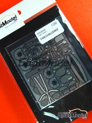 Studio27: Detail up set 1/24 scale - Ferrari F430 Challenge  - photo-etched parts and assembly instructions - for Fujimi references FJ12268, FJ122687, FJ123189, FJ123615, FJ12560, FJ125602, FJ189888 and FJ189963