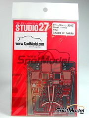 Studio27: Photo-etched parts 1/24 scale - Audi R10 TDI - for Revell kit