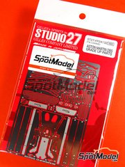 Studio27: Photo-etched parts 1/24 scale - Aston Martin DBS - for Tamiya reference TAM24316