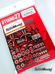 Studio27: Photo-etched parts 1/24 scale - Renault R5 Turbo - for Tamiya reference TAM24027