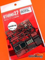 Studio27: Photo-etched parts 1/24 scale - Nissan Nismo GT-R 1996 - for Tamiya kit TAM24178 image