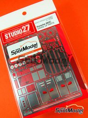 Studio27: Photo-etched parts 1/24 scale - Porsche 962 - for Tamiya kit