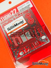 Studio27: Photo-etched parts 1/24 scale - Ford Capri Turbo Group 5 - for Tamiya references TAM24014 and TAM24329