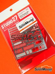 Studio27: Photo-etched parts 1/24 scale - Porsche 934 Turbo RSR Group 4 - for Tamiya references TAM24328 and TAM24334