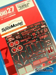 Studio27: Photo-etched parts 1/24 scale - BMW M3 - DTM 2012 - for Revell kits
