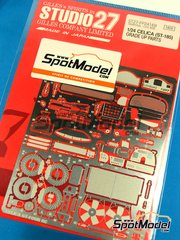 Studio27: Photo-etched parts 1/24 scale - Toyota Celica - for Tamiya reference TAM24125 image