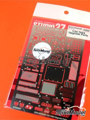 Studio27: Photo-etched parts 1/24 scale - Toyota TA64 Celica - for Beemax Model Kits reference B24004 image