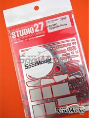 Studio27: Detail up set 1/24 scale - Toyota 88C - photo-etched parts and assembly instructions - for Hasegawa reference CC-5