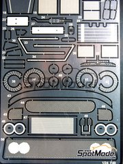 Studio27: Photo-etched parts 1/24 scale - Ferrari F40