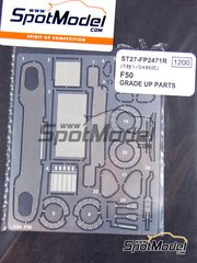 Studio27: Photo-etched parts 1/24 scale - Ferrari F50